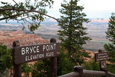Bryce Point at Bryce Canyon National Park