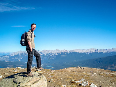 On Whistlers Mountain, Jasper National Park, Alberta