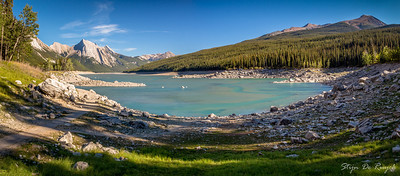 Medicine Lake, Jasper National Park, Alberta