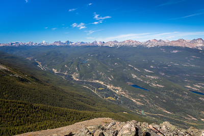 Mount Robson & Victoria Cross Range, from Whistlers Mountain, Jasper National Park, Alberta
