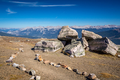 View from Whistlers Mountain, Jasper National Park, Alberta