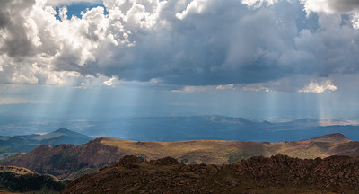 View from Pikes Peak Highway, Colorado