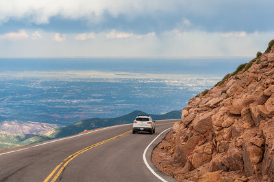 Pikes Peak Highway, Colorado