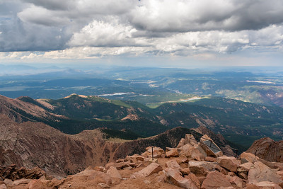 Pikes Peak Summit, Colorado